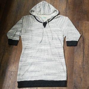Sweatshirt dress.